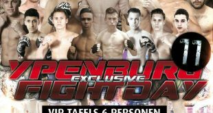 Ypenburg Exclusive Fightday zaterdag 27 mei 2017