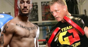 GLORY 44 Chicago: Richard Abraham in Training met 'Godfather of Kickboxing' Cor Hemmers