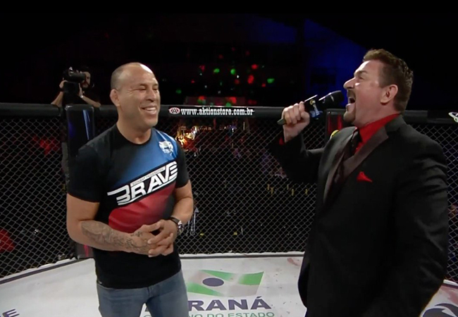 Wanderlei Silva ambassadeur voor Brave 9 The Kingdom of Champions