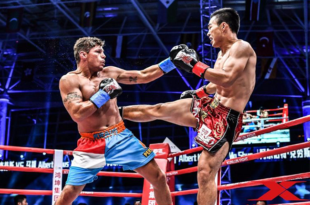 Op zondag 5 november zegevierde Albert Kraus op Kunlun Fight 66 in Wuhan China!