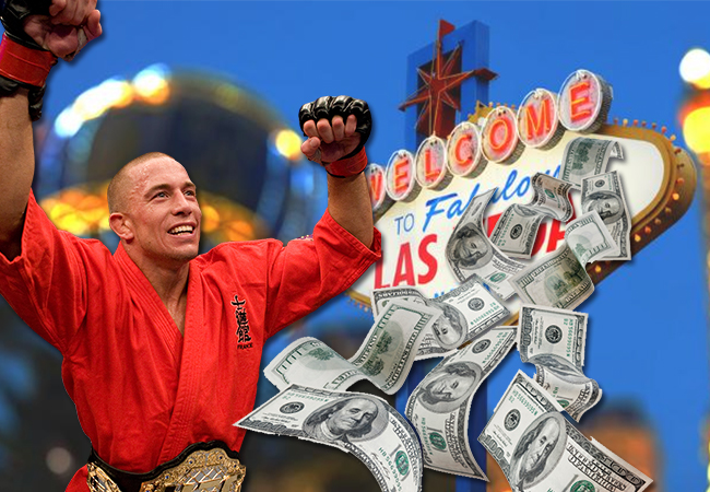 Georges St-Pierre weddenschap favoriet boven Robert Whittaker en Conor McGregor!