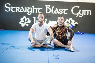 Connor McGregor stoomt talent Richie Smullen klaar voor The Ultimate Fighter