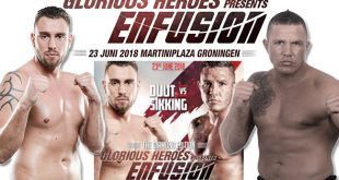 Rematch Michael Duut tegen Fred Sikking op Enfusion Glorious Heroes