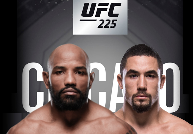 Yoel Romero treft Robert Whittaker in rematch op UFC 225