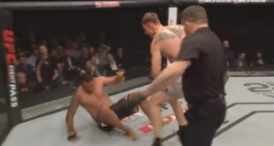 Video: Alexander Volkov slaat Fabricio Werdum knockout in Londen