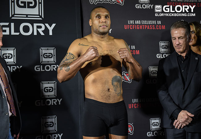 Jason Wilnis in hoofdgevecht van GLORY 56 SuperFight Serie