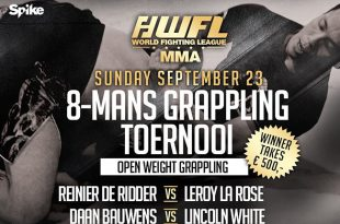 8 mans Grappling toernooi toegevoegd WFL MMA Fightcard