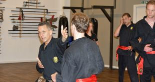 Trainen bij Sam Lung Martial Arts