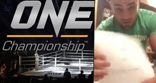 VIDEO ONE Championship: Eddie Alvarez toont officieel getekend contract
