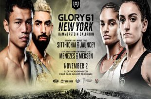 GLORY 61 SuperFight Series: Kevin Vannostrand vs. Massaro Glunder als Headliner