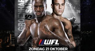World Fighting League Kickboksen: 'Groenhart de ring in tegen Sahin'