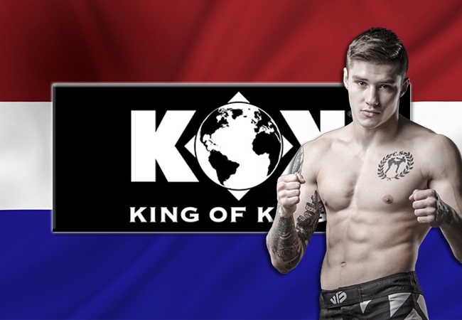 Eerste vechter voor Fightersheart Presents King Of Kings bekend gemaakt