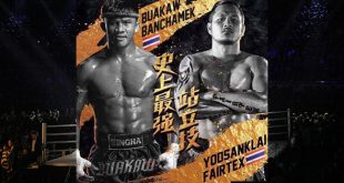 Buakaw vs. Yodsanklai: Strijd tussen twee Muay Thai legendes by MAS Fight