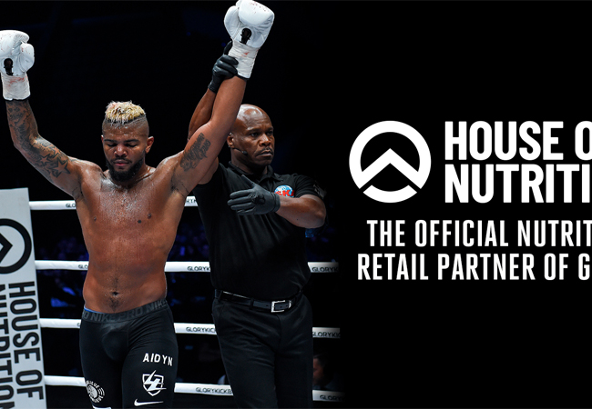 GLORY Kickboxing start partnership met House of Nutrition