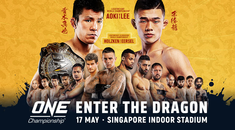 Uitslagen ONE Championship: Enter the Dragon