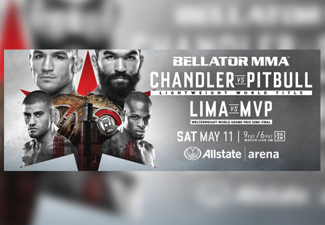 Uitslagen: Bellator 221 Chandler vs. Pitbull