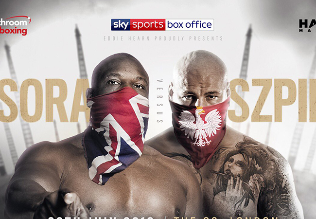 Breaking: Derek Chisora treft Artur Szpilka in London